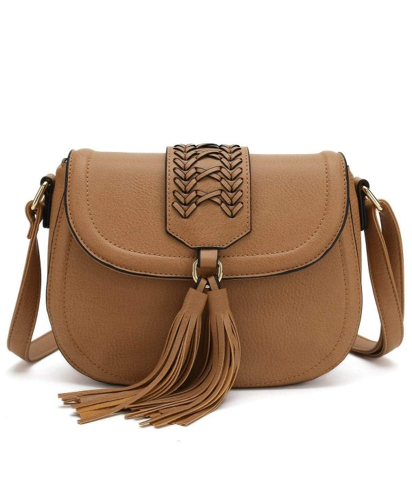 Saddle Tassel Crossbody Designer Handbag