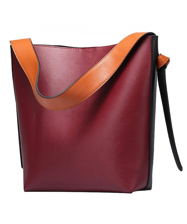 SAIERLONG Designer Cowhide Handbags Shoulder