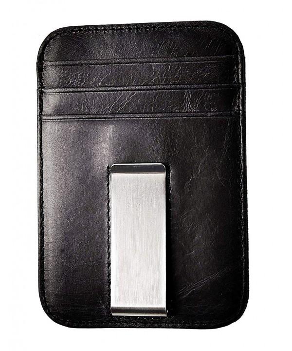 Zbrandy Pocket Minimalist Genuine Leather