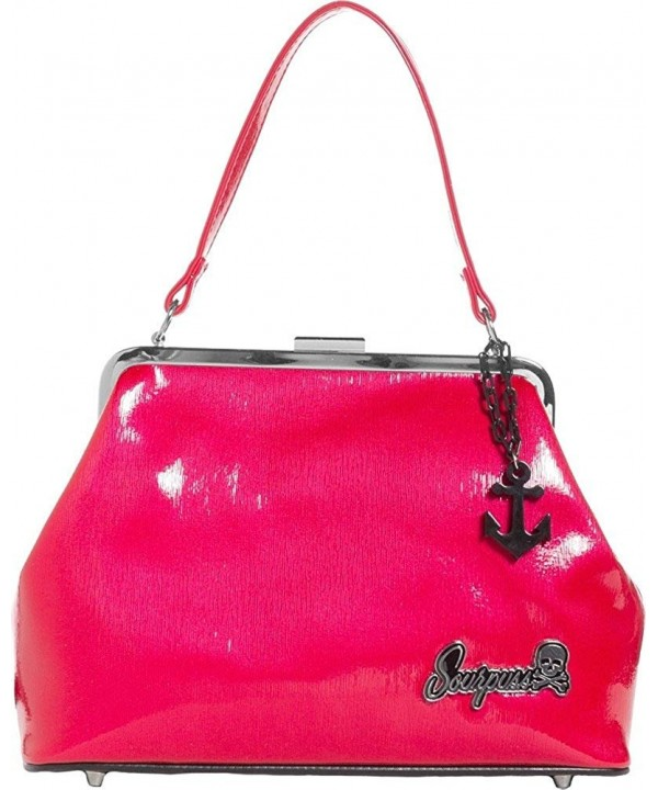 Sourpuss Brand Raspberry Betsy Anchor