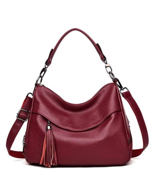 Sanxiner Womens Leather Shoulder Handbags