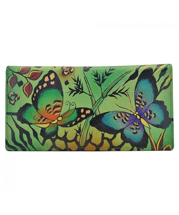 Anuschka Ladies Wallet Animal Butterflies