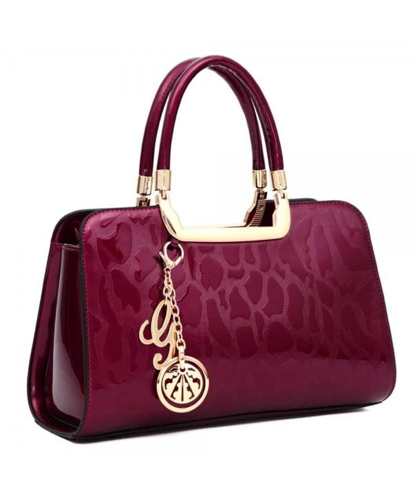 383683fce05 Handbags Designer Satchels Shoulder - Rose - CL180NETIS3