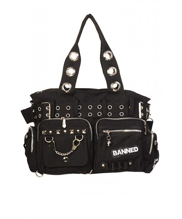 Banned Black Military Purse Handcuff