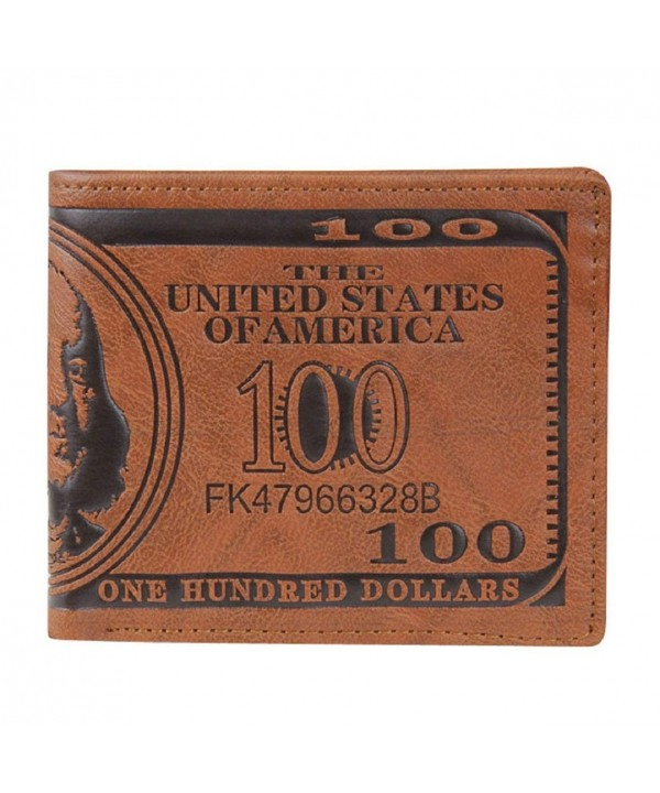 Lookatool Dollar Leather Wallet Bifold