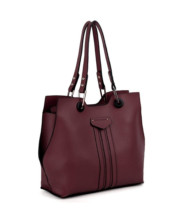 UTO Shoulder Leather Capacity Handbags