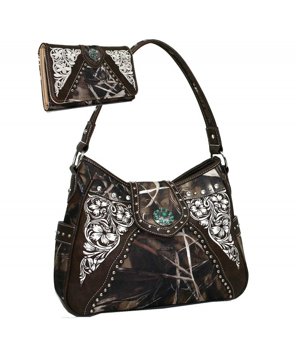 Western Turquoise Accented Handbag Matching