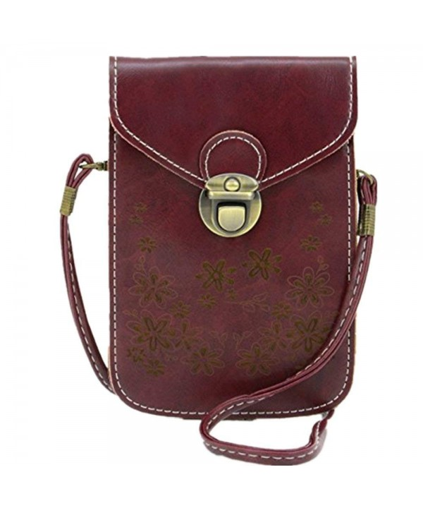Pattern Synthetic Leather Crossbody Shoulder