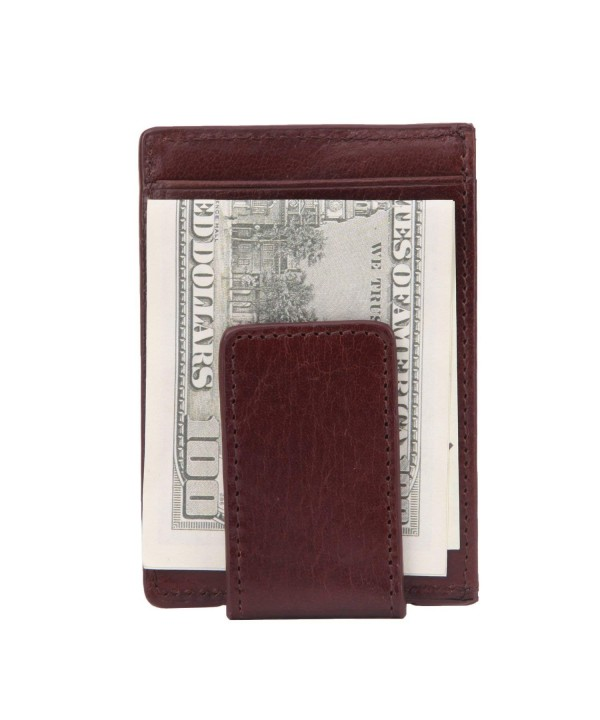 Banuce Magnetic Leather Credit Wallet