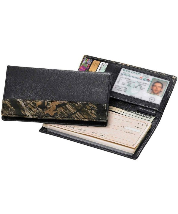 Legendary Whitetails Leather Deluxe Checkbook