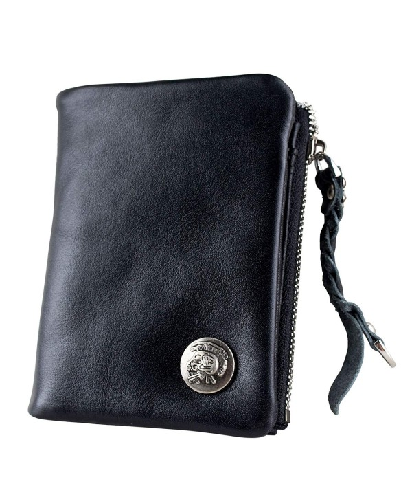 Ancicraft Leather Wallet Bifold Pocket