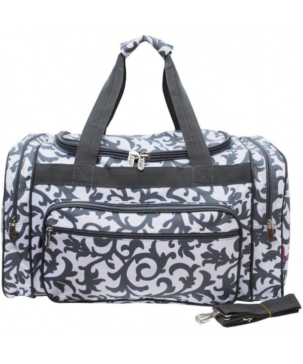 N Gil Damask Duffle Bag