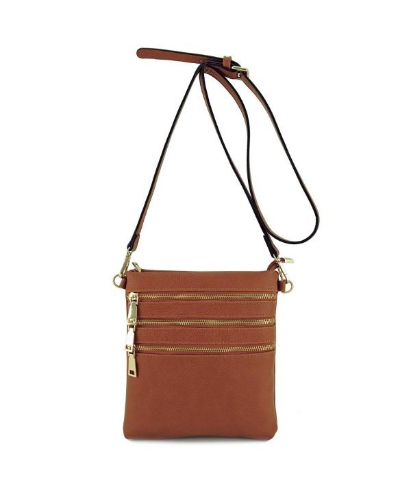Basic Zipper Travel Shoulder Crossbody