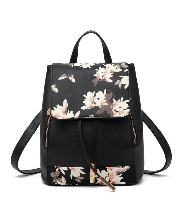 Pahajim Fashion leather backpack Schoolbag