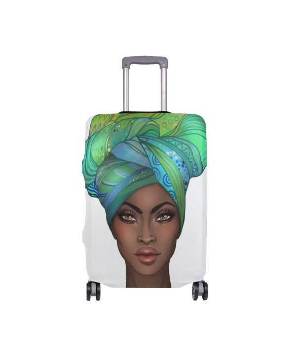 ALAZA African American Protector Suitcase