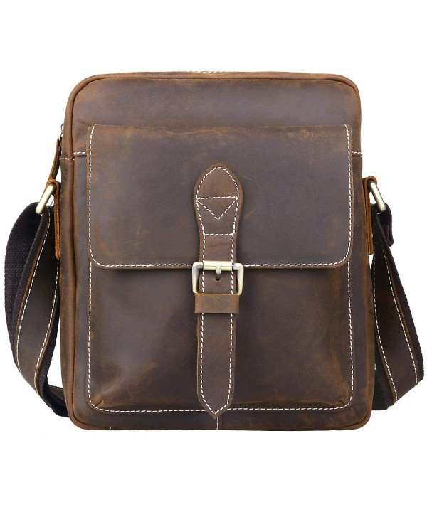 Jack Chris Handmade Vertical Messenger