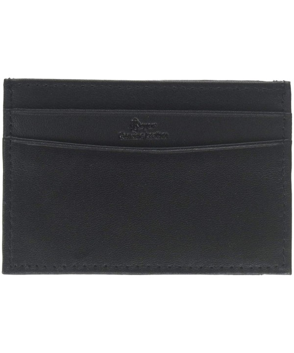 Royce Leather Minimalist Credit Wallet