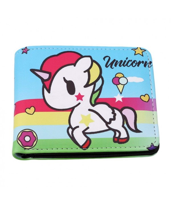 HENGSONG Women Unicorn Wallet Shopping