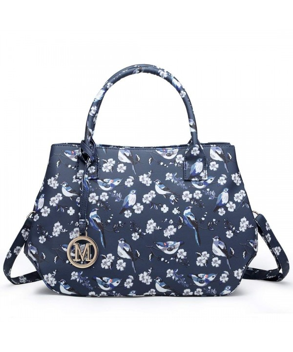Miss Lulu Ladies Handbag Flower