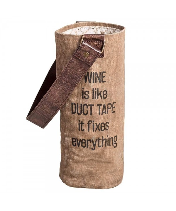 Wine Like Duct Tape Bag