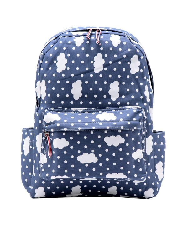 Damara Students Preppy Backpack Shoulders