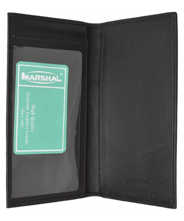 Crafted Genuine Leather Checkbook Premium