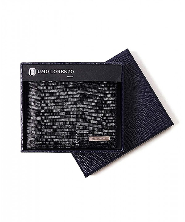 Bifold Mens Black Wallet Lorenzo