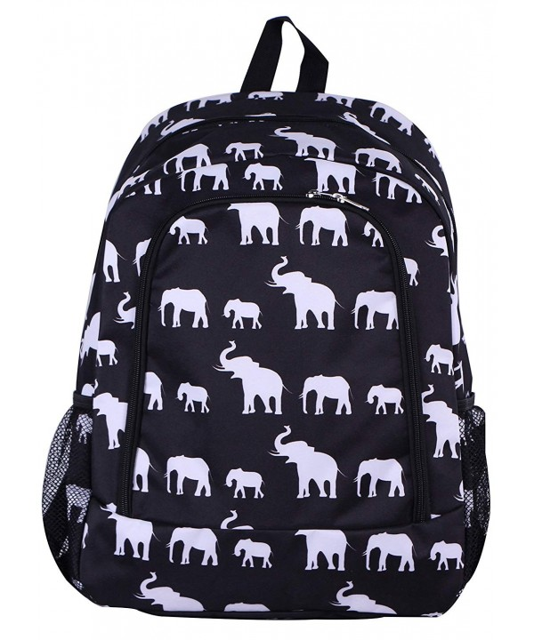 BW 1 Backpack elephant Pattern Design