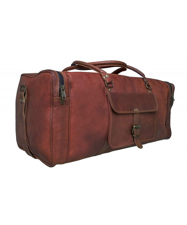 Genuine Leather Overnight Weekender Gbag