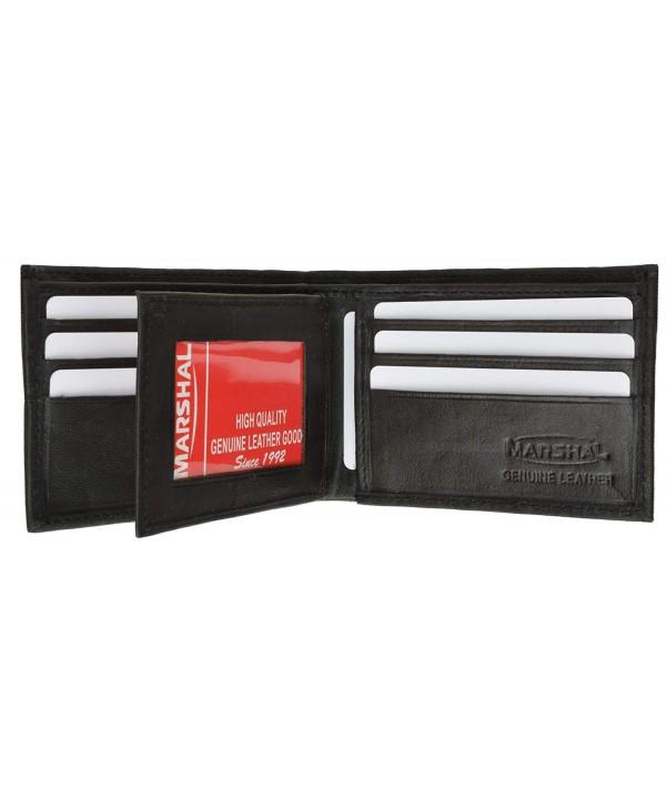 Leather Bifold Wallet Credit Holder