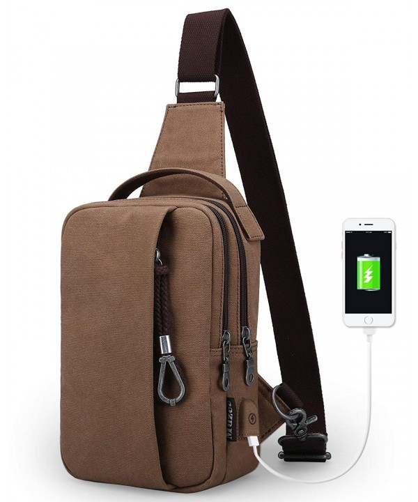 Muzee Shoulder Charging Backpack Crossbody