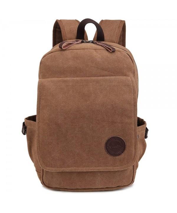 Zebella Vintage Backpack Rucksack Weekender