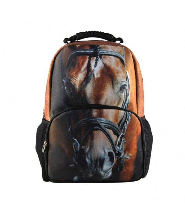 doginthehole Bookbags Animal Rucksack Backpacks