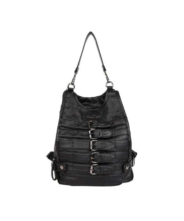 Angelkiss Leather shoulder backpack K15631