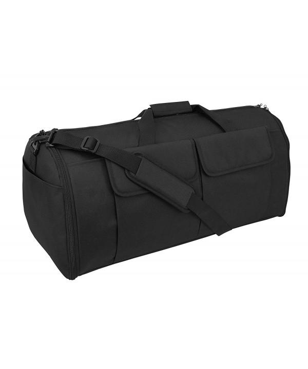 Alpha Hybrid Garment Duffel Black