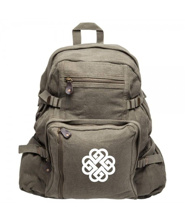 Breaking Benjamin Heavyweight Canvas Backpack Olive