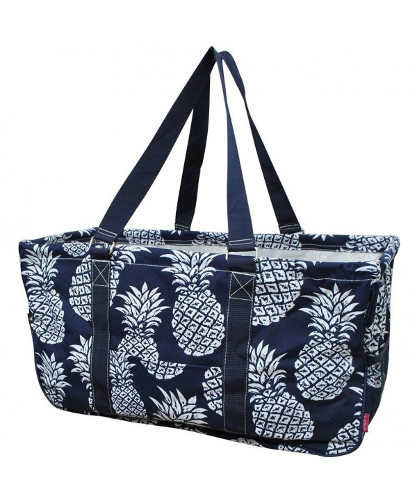 Southern Pineapple Print Utility Shopping