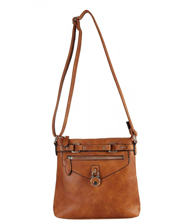 Diophy Compartments Crossbody Messenger MY 2402
