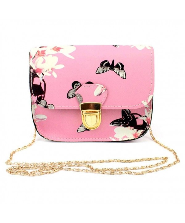 Clearance Butterfly Printing Shoulder Crossbody