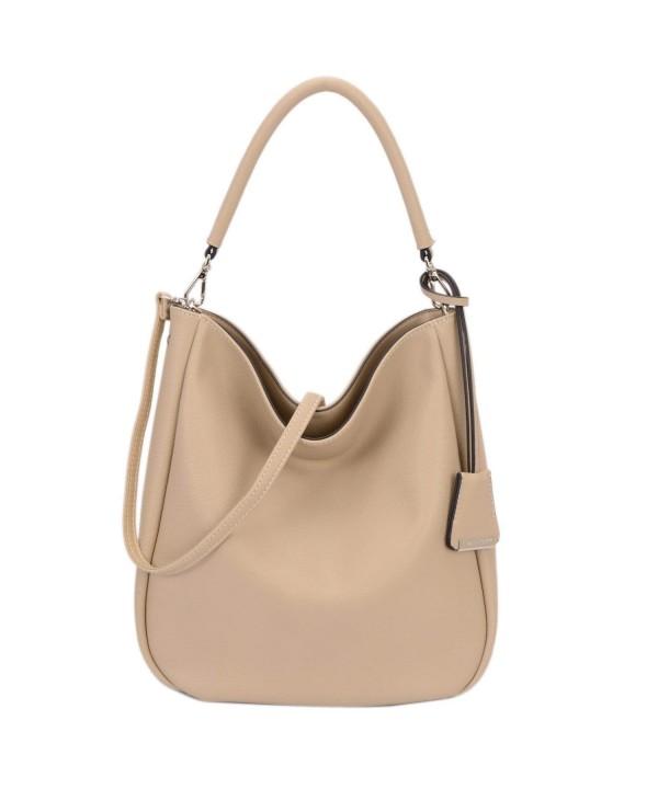 DAVIDJONES Womens Leather Shoulder Handbags