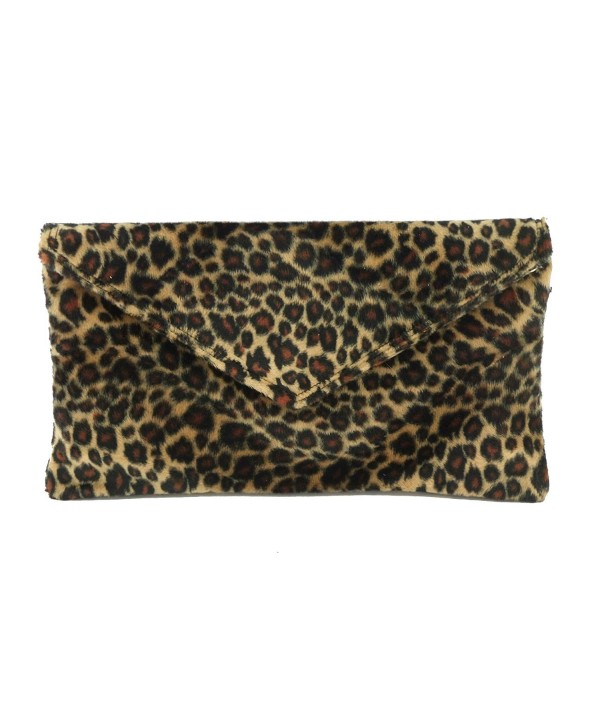 Womens Envelope Animal Shoulder leopard