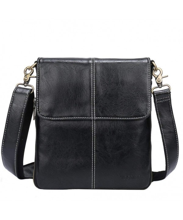 VORMOR Leather Shoulder Messenger Satchel