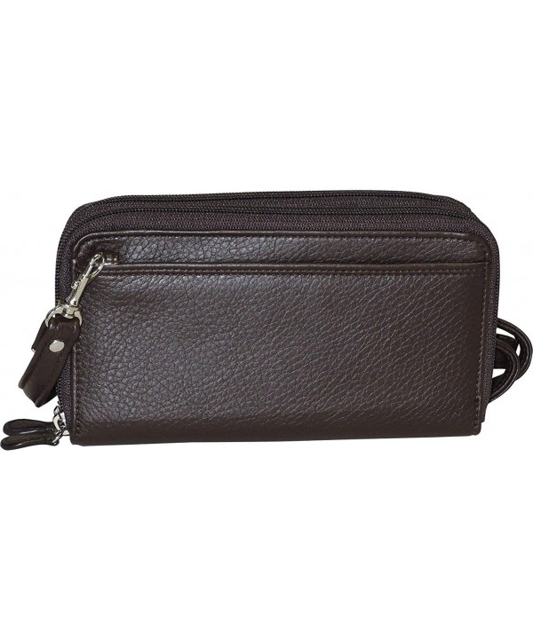 Buxton Ultimate Organizer Crossbody Handbag