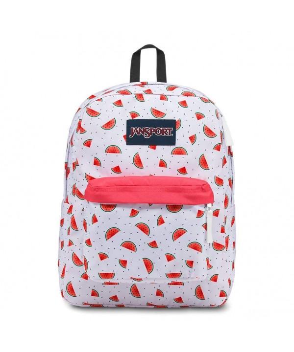 JanSport Superbreak Backpack Watermelon Ultralight