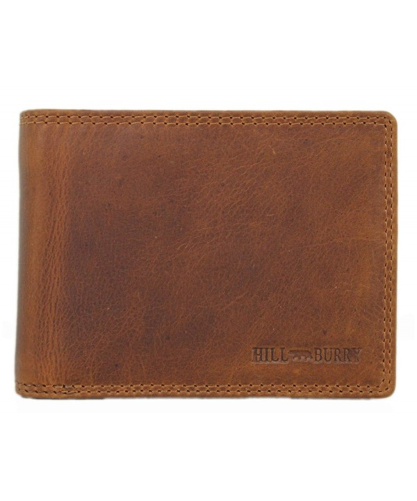 Trifold Genuine Leather Handmade Vintage