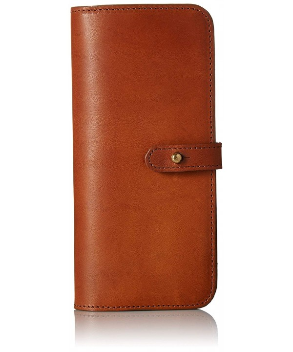 Circa Leathergoods Womens Wallet Papaya