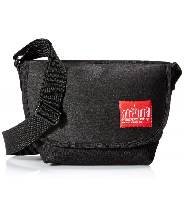Manhattan Portage Neoprene Messenger Black