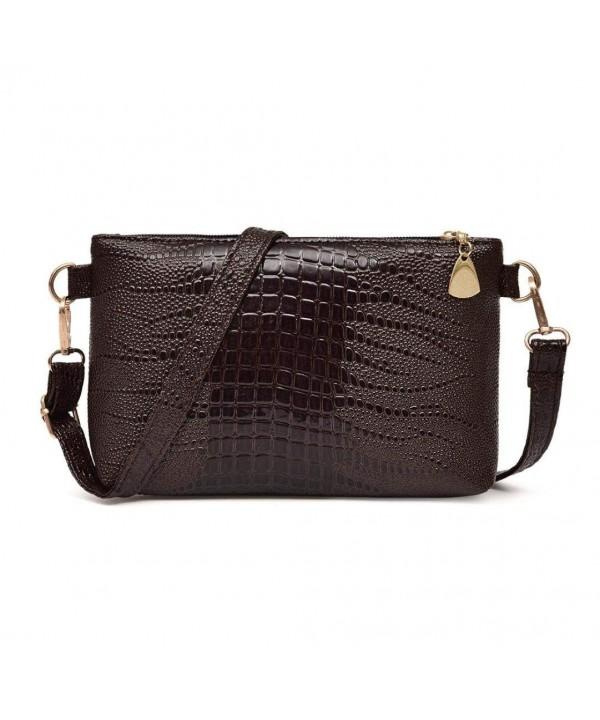 ZTY66 Fashion Leather Crocodile Shoulder