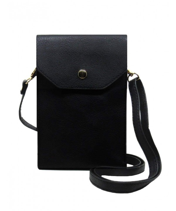 Universal Synthetic Leather Wallet Crossbody