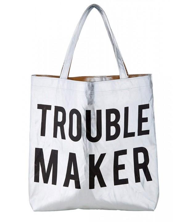 Trouble Maker Platinum Polycotton Shoulder